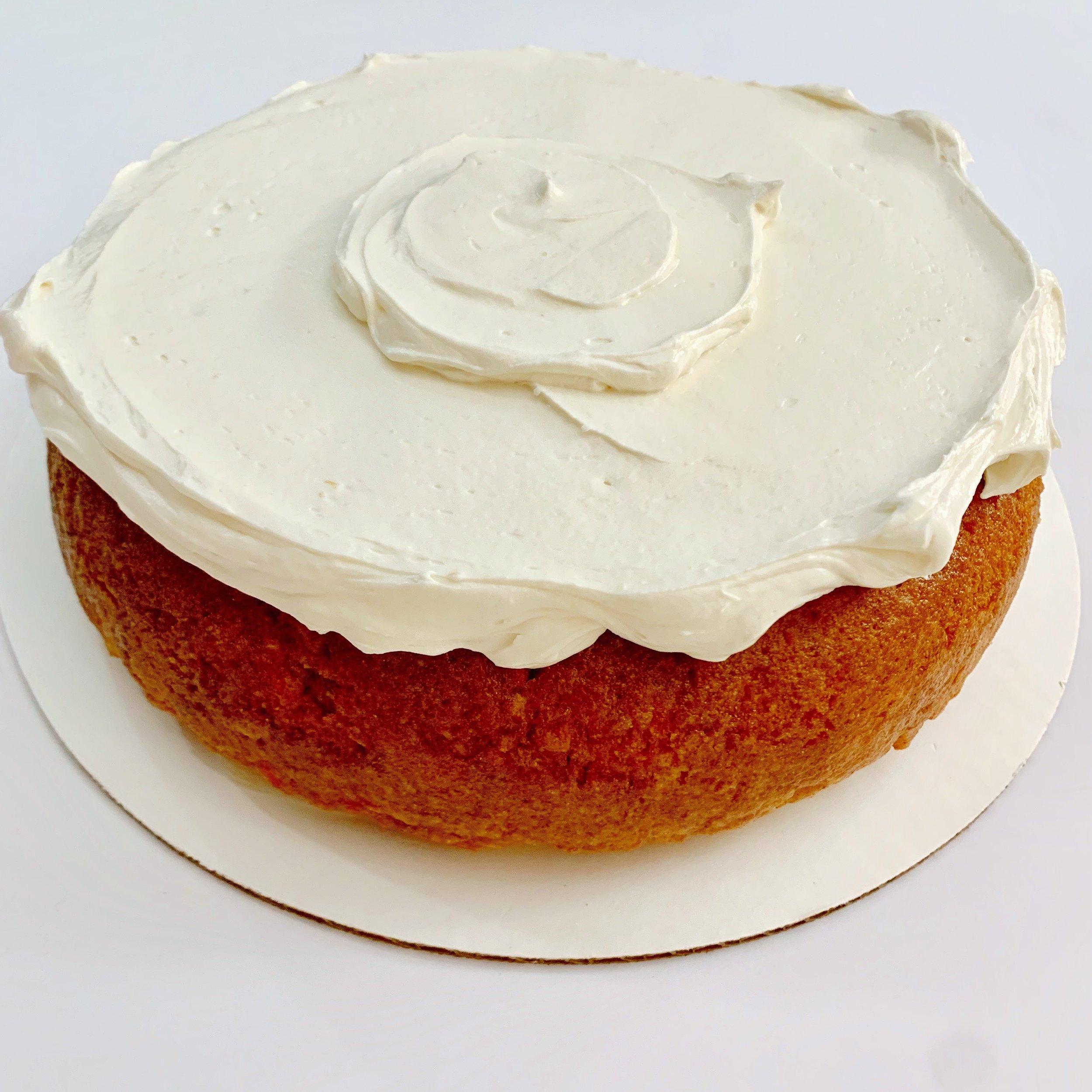"Caribbean Island Cake (9"") $30"