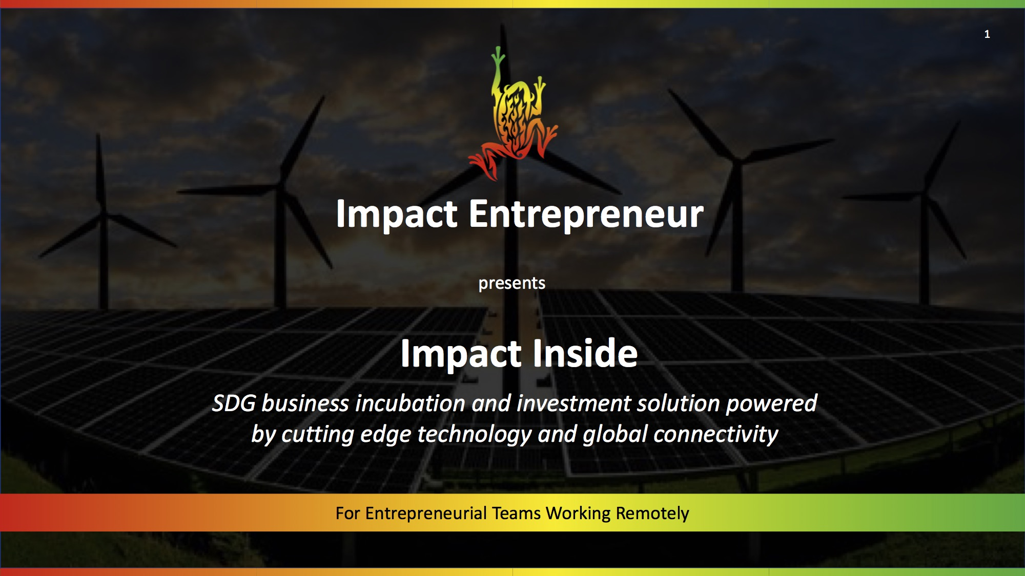 For more information on  Impact Inside for individual entrepreneurs and their teams ,  click here .