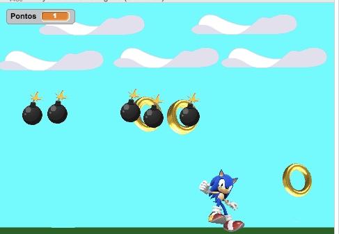 Projeto Sonic (baseado em projeto dos alunos)