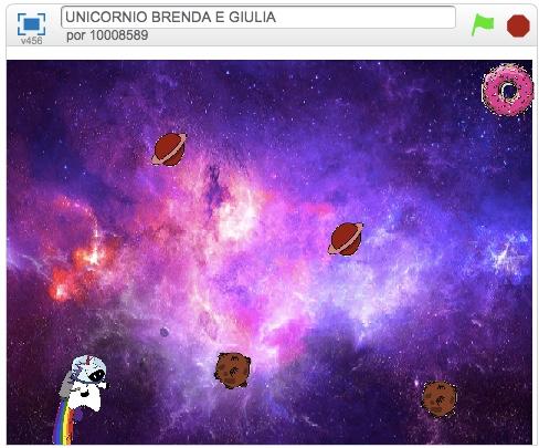 Unicórnio  Brenda e Giulia 1a Media A