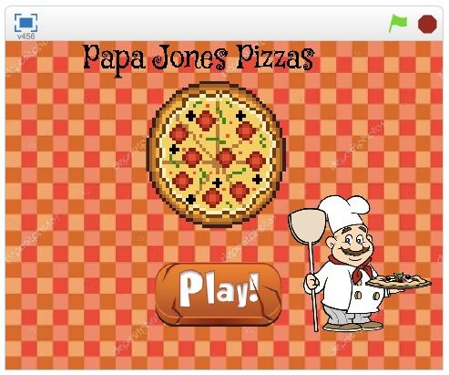 """Papa Jones Pizza"" Lucas G. e Lucas L."