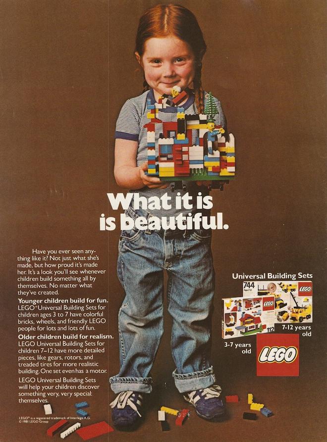 Este anúncio mostra que as coisas até iam bem em 1981...