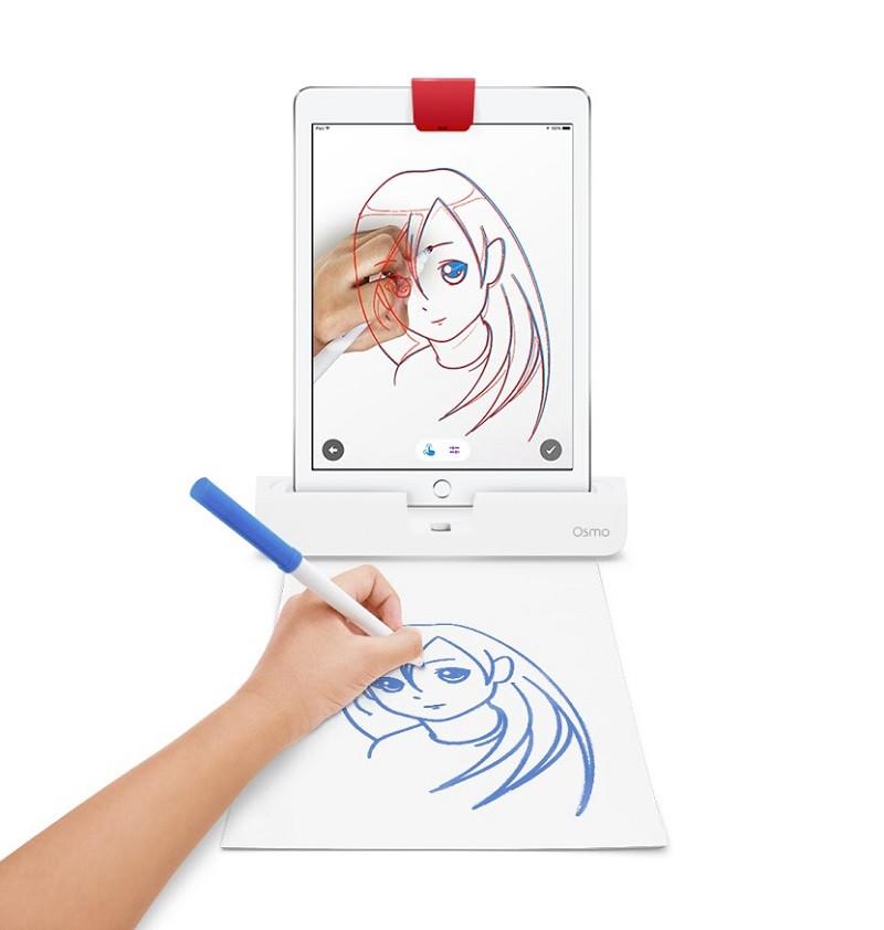 DESENHO NO OSMO MASTERPIECE - Jogo interativo para aprendizado de desenhos, que ensina a criar desenhos originais, fazendo um filme de todo o processo.