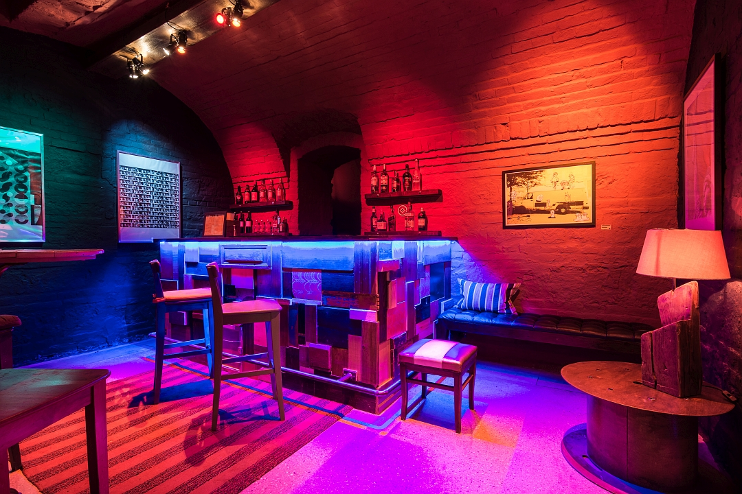 The Den & Bunker Bar, Brody Studios