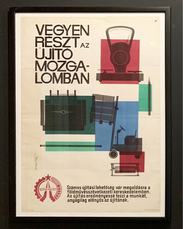Vilmos Mohrlüder | Vegyen részt az újító mozgalomban | 1965 . . . #thebrodyartcollection #instapicture #pictureoftheday #artoftheday #artistoftheday #vintageposter #graphicdesign #poster #poszter #vilmosmohrlüder #graphicartist #painter #graphicartwork #art #hungarianartist #budapestart #theworkshop