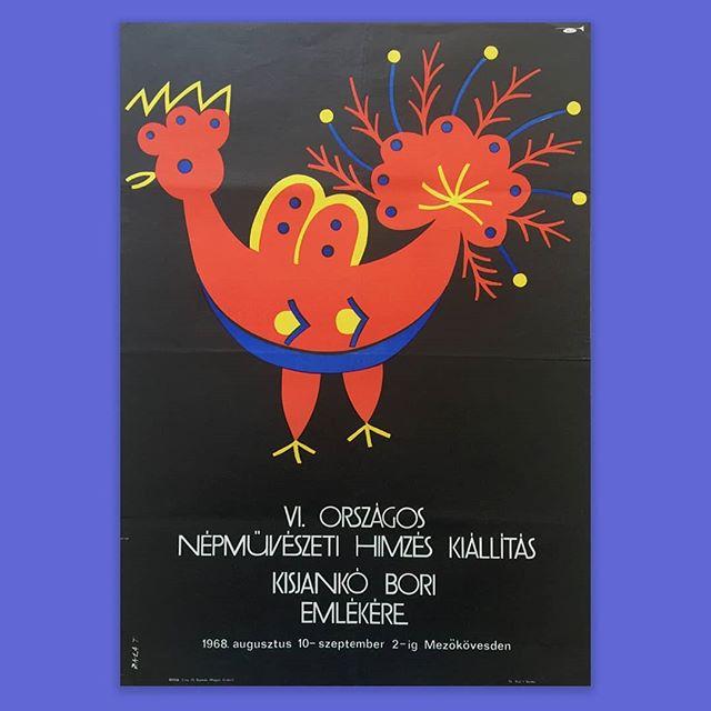 Tibor Zala | IV. Országos népművészeti hímzés kiállítás Kisjankó Bori emlékére | 1968 . . . #thebrodycollection#instapicture #pictureoftheday #artoftheday #artistoftheday #vintageposter #graphicdesign #poster #poszter #himzes #magyarmuveszet #zalatibor #graphicartist #painter #graphicartwork #art #bird #illustration #hungarianartist #budapestart #theworkshop