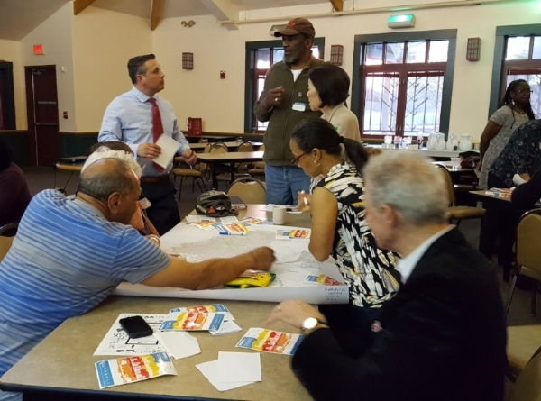 2016 Boston Park Advocates Summit at Franklin Park Clubhouse