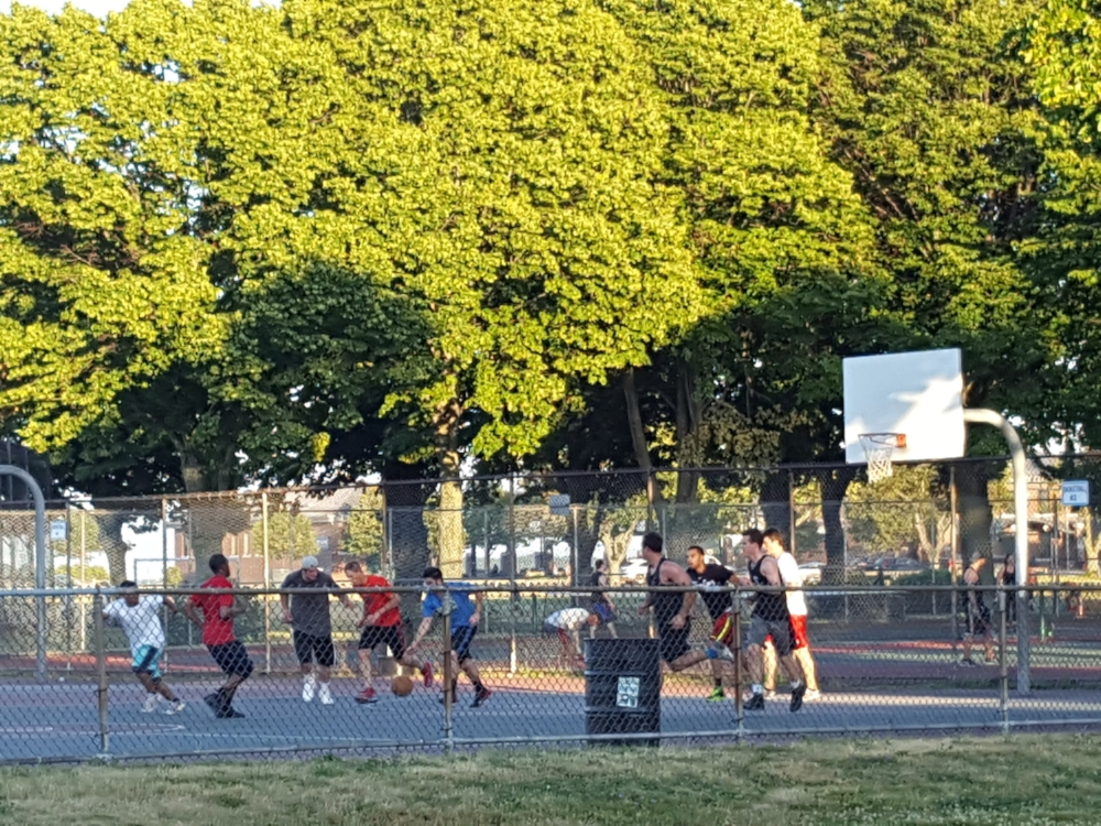 Joe Moakley Park in South Boston is a popular location for numerous recreational activities such as basketball, tennis, soccer, and volleyball.