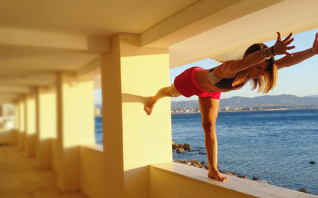 Katerina Thymi - Yoga Poses - LoutrakiAugust 2017