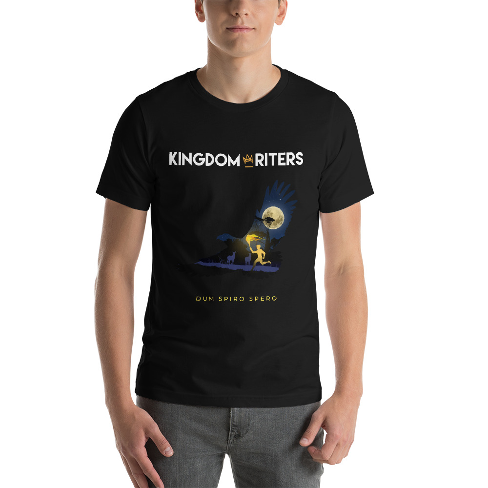 Kingdom Writers Eagle Graphic Tee   $28.00