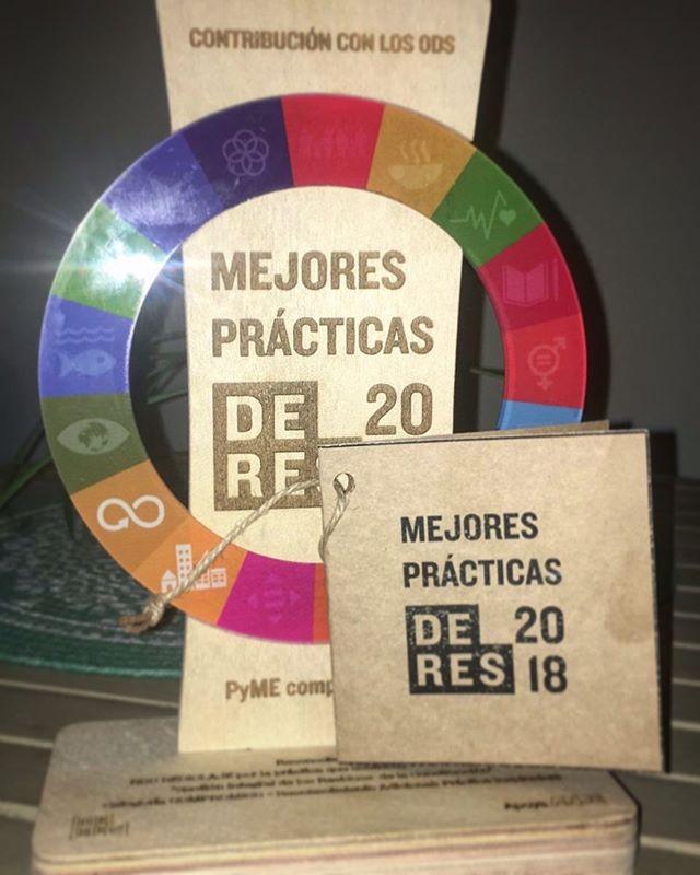Muy agradecidos por el reconocimiento de contribuir con los ODS y de llevar adelante prácticas inspiradores! #orgullosos @rcd_reciclaje