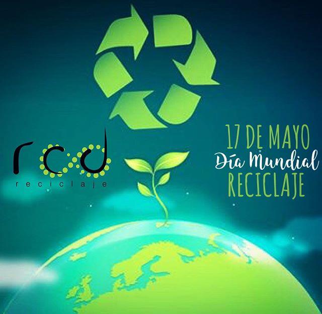 Feliz día del reciclaje! #reciclaje #diamundialdelrrciclaje @rcd_reciclaje