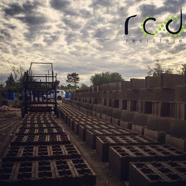 @rcd_reciclaje #producción #bloques #reciclaje
