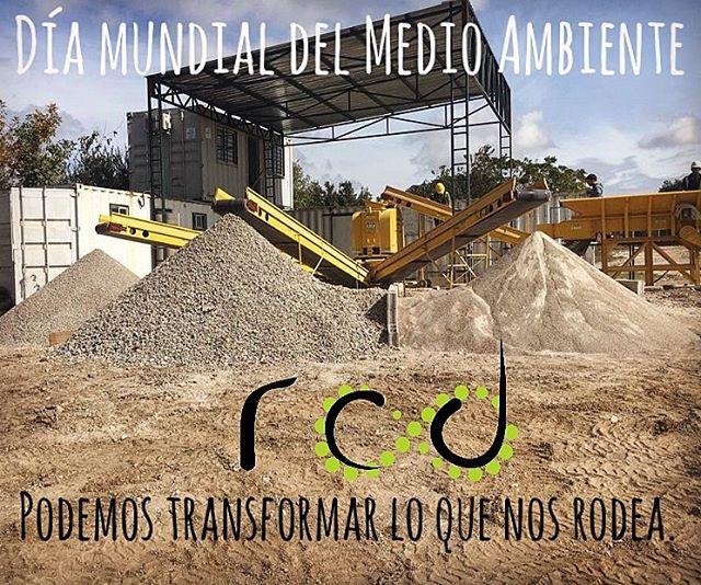5 de junio - Día Mundial del Medio Ambiente #diamundialdelmedioambiente #reciclaje #rcd @rcd_reciclaje