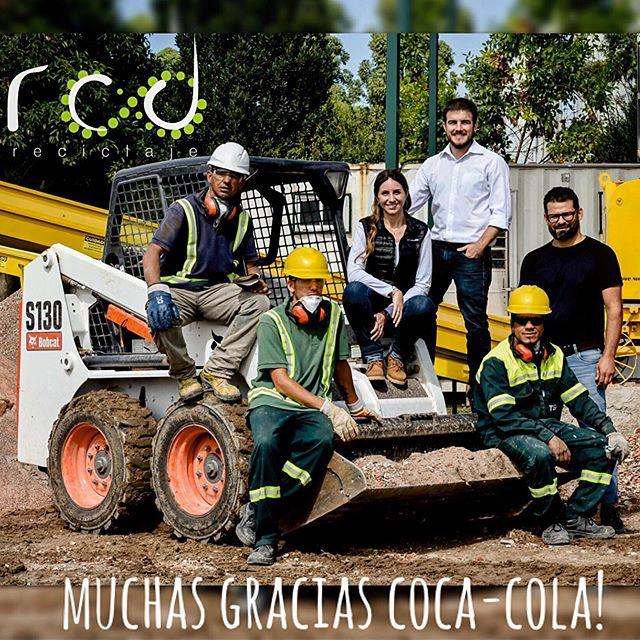 https://www.coca-coladeuruguay.com.uy/historias/medio-ambiente-los-escombros-convertidos-en-materia-prima--el-triunfo-de-la-eco#ath Muchas gracias por el artículo @cocacola_uy  #oportunidadescirculares #medioambiente #rcdreciclaje