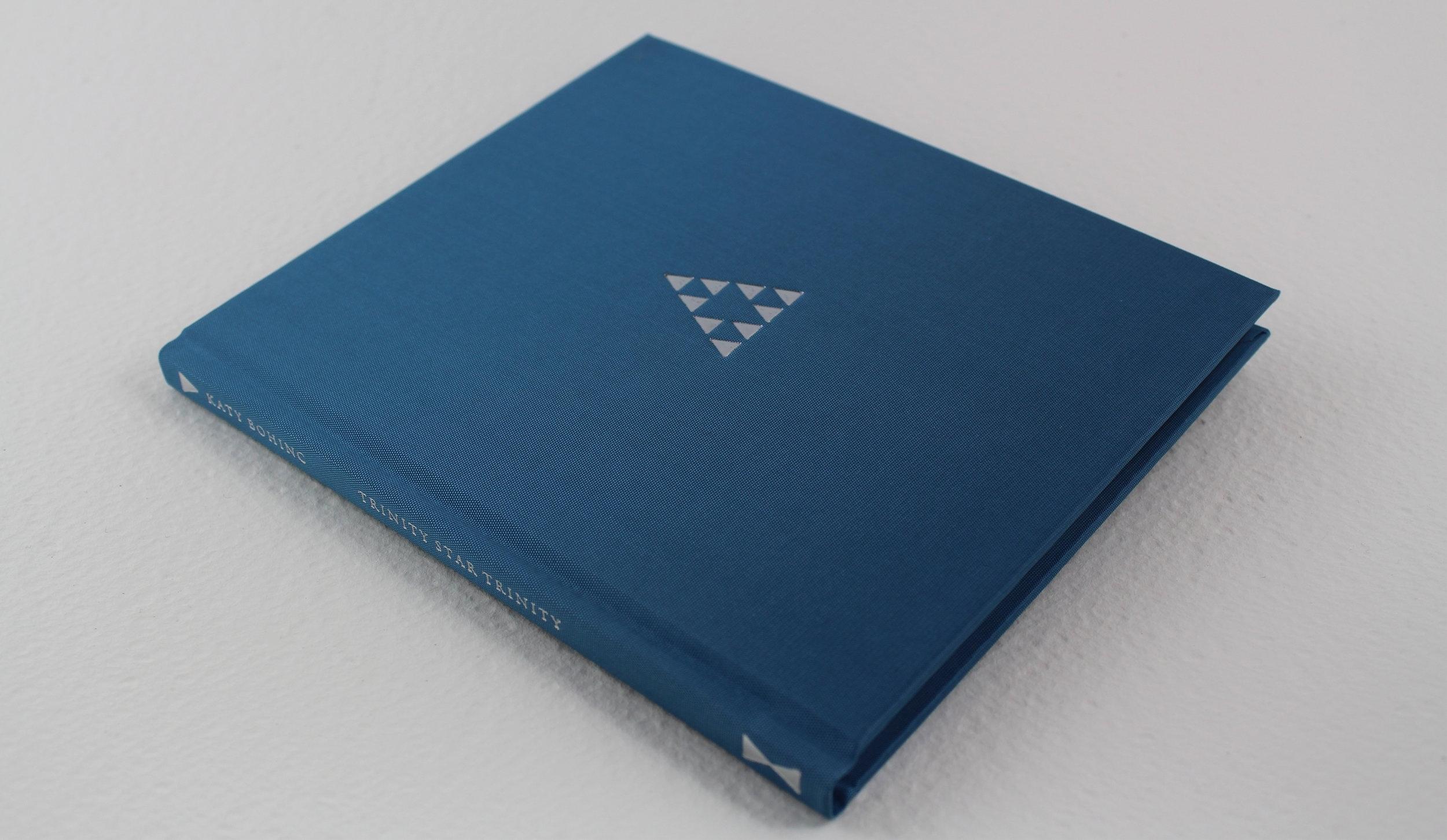 The standard edition bound in azure silk bookcloth