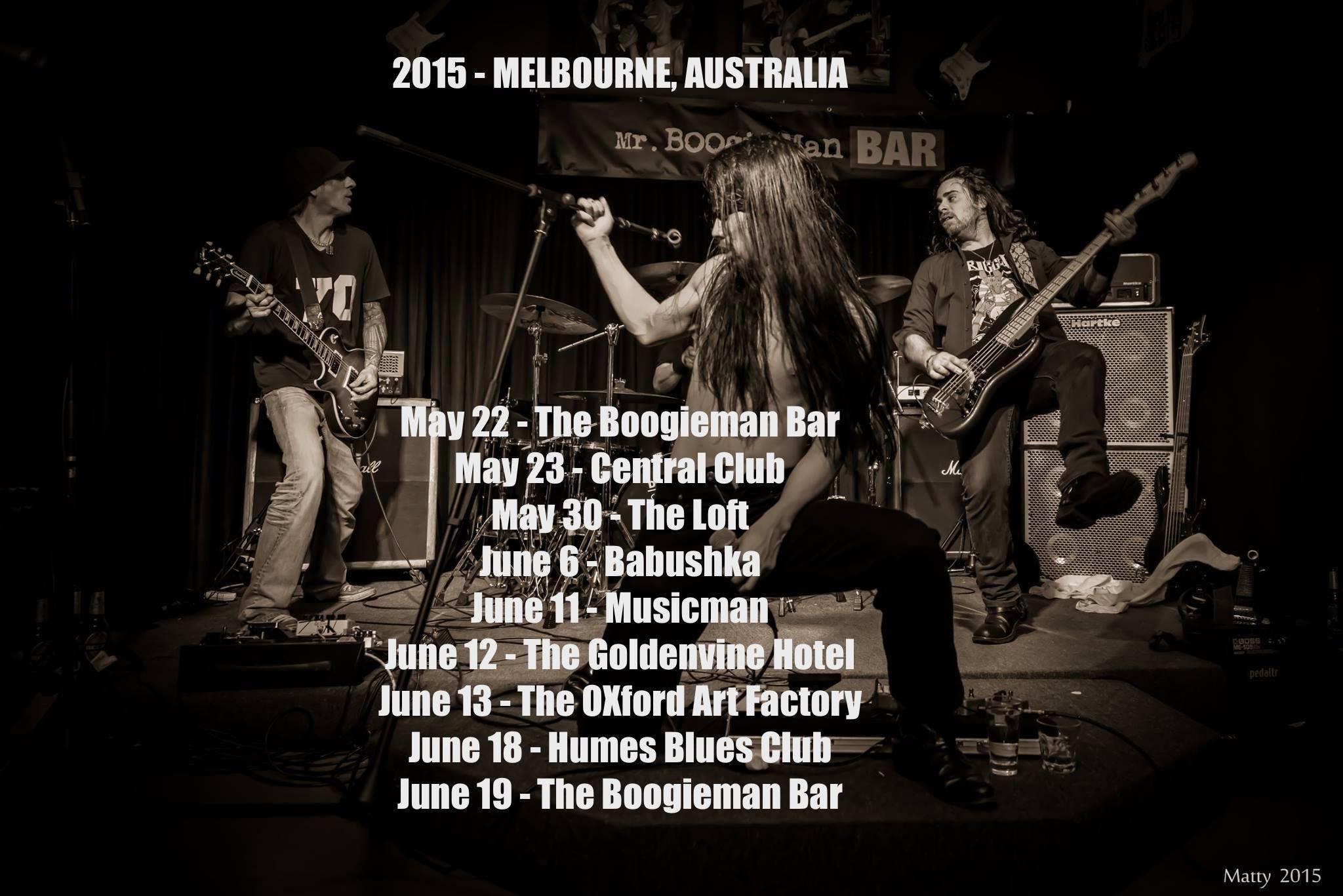 2015 - MELBOURNE AUSTRALIA