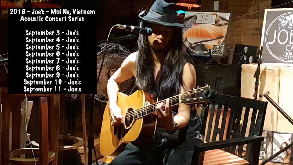 Acoustic Concert Series at Joe's - 2018