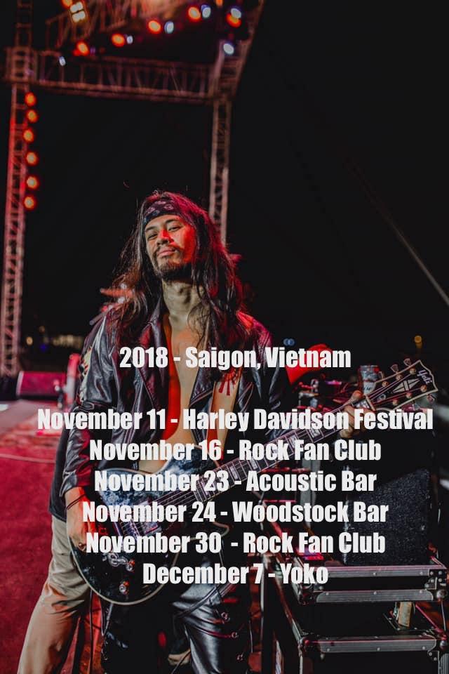 2018 - Saigon, Vietnam - Brought To You By Harley Davidson