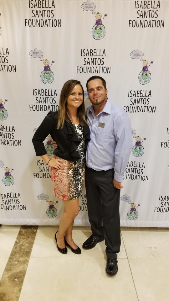 We were invited to a sponsor VIP event at Diamond's Direct in honor of the Isabella Santos Foundation's upcoming run to benefit the fight against Pediatric Cancer.