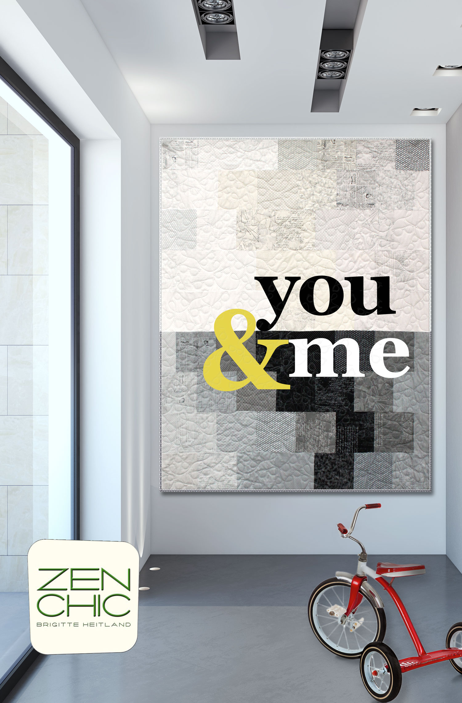 You and Me Individual Letters -