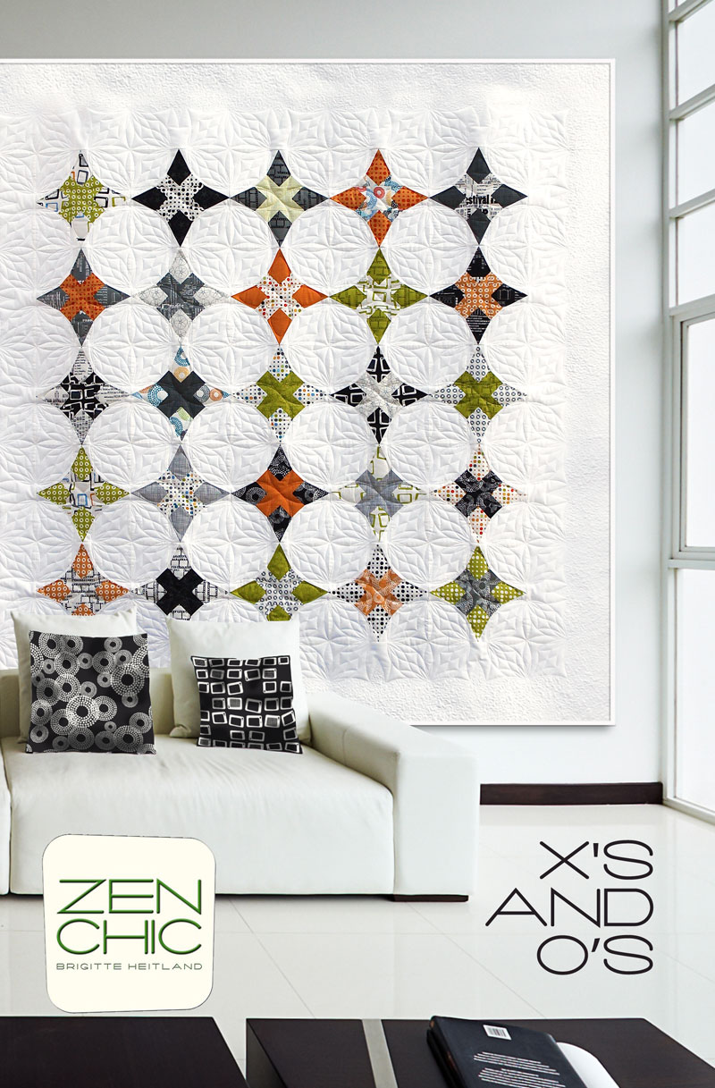 Xs and OsPaperpiecing template -