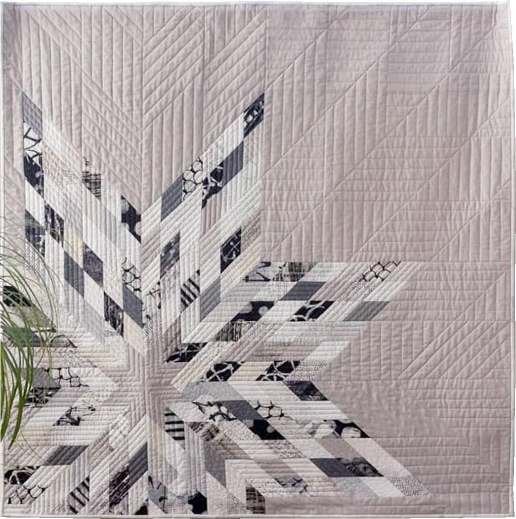 Mega Star quilt pattern by Zen Chic, sewn by Renate Salz