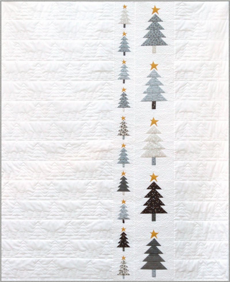 Those Trees Christmas Quilt pattern by Zen Chic