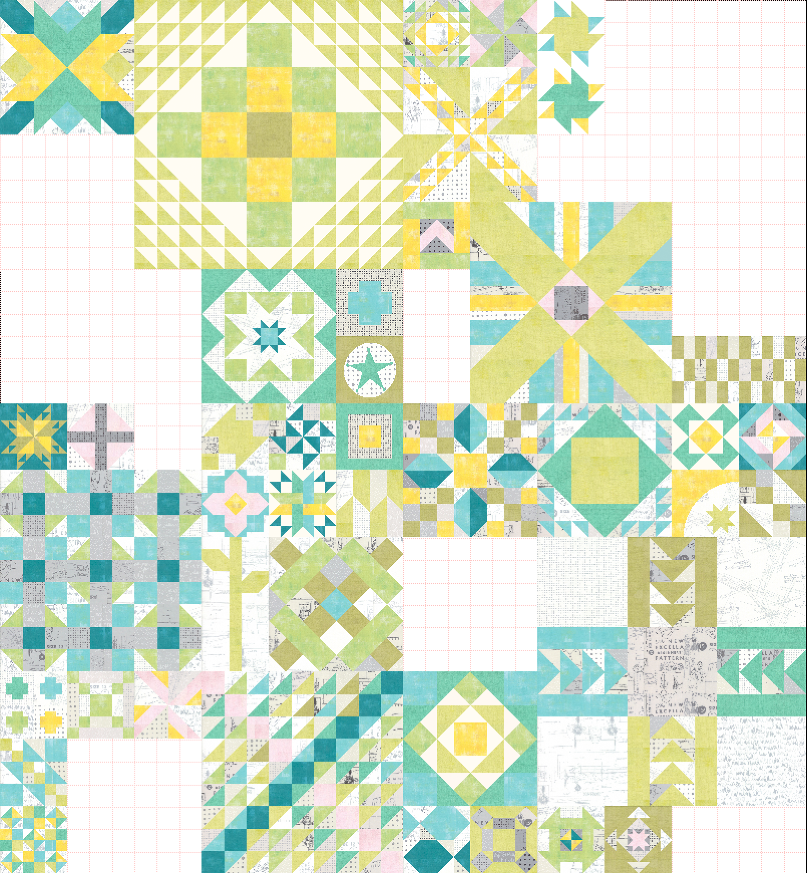 …and this is how my final layout will come together - (…just in case you are curious, haha)