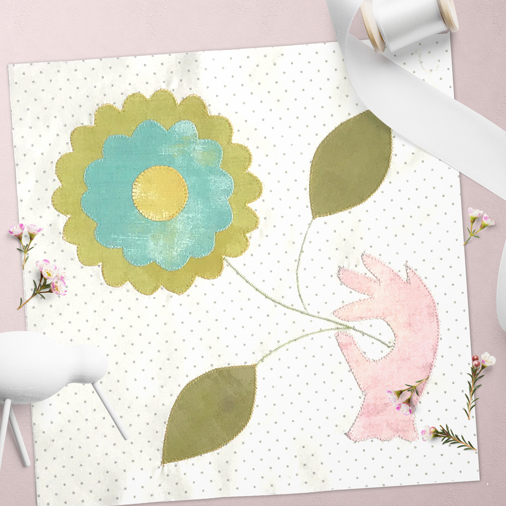 Free quilt along Blockheads 2018, Block 48: Ann Arbor Fabrics used in the block are from Moda, Basic Grey GRUNGE and Zen Chic PAPER