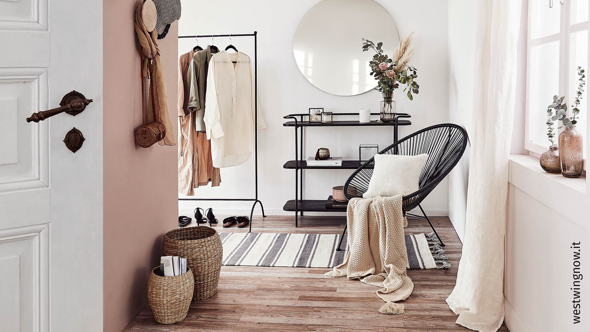 Neutral tones, like the ones seen here in westwingnow.it, offer a cool, modern look to any project. Zen Chic's 2019 Spotted collection brings a beautiful range of these versatile colors.
