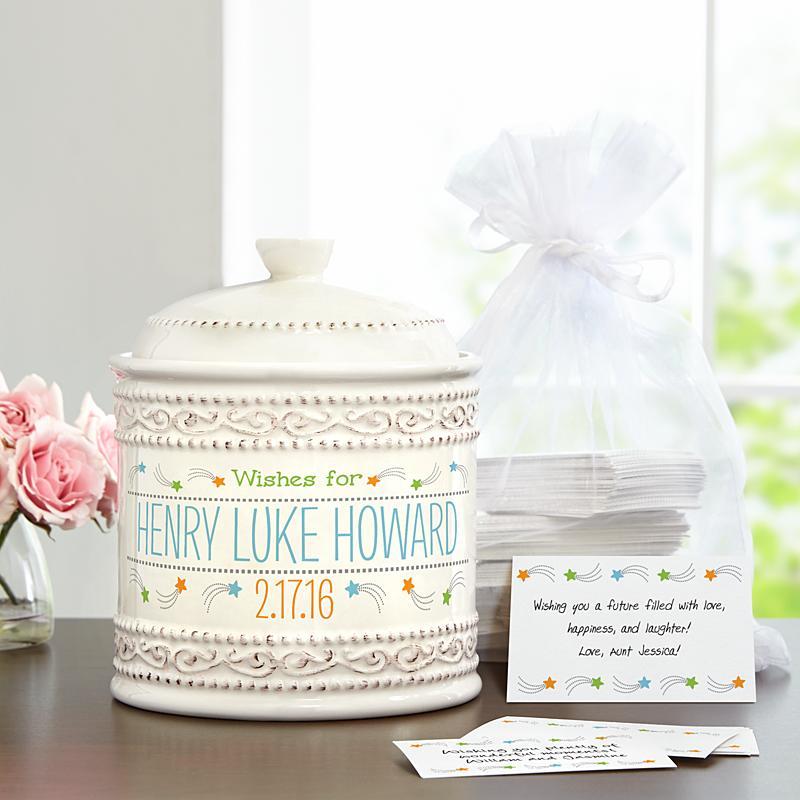 Baby naming wish jar
