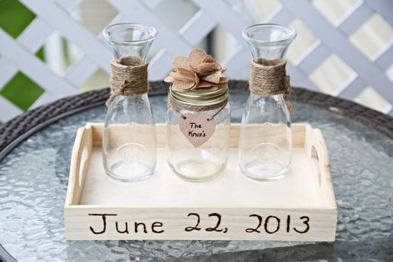 Sand Unity Ceremony for a baby naming ceremony