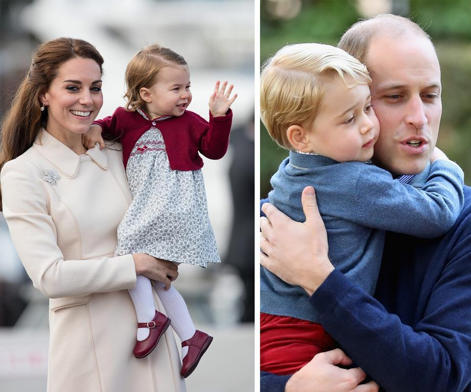 """William: """"Catherine and I are clear that we want both George and Charlotte to grow up feeling able to talk about their emotions and feelings  Over the past year we have visited a number of schools together where we have been amazed listening to children talk about some quite difficult subjects in a clear and emotionally articulate way, something most adults would struggle with."""""""