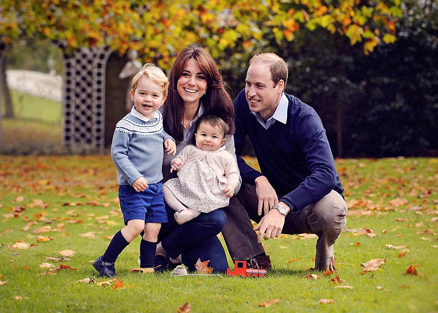 """Kate: """"My parents taught me about the importance of qualities like kindness, respect, and honesty, and I realise how central values like these have been to me throughout my life.  That is why William and I want to teach our little children, George and Charlotte just how important these things are as they grow up. In my view it is just as important as excelling at maths or sport."""""""