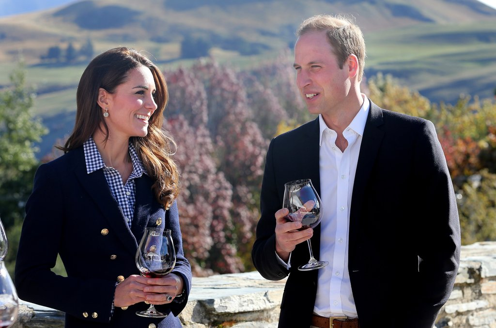 """William: """"Obviously we both have a very fun time together, both have a very good sense of humour about things, we're down to earth, we take the mickey out of each other a lot, and she's got plenty of habits that make me laugh that I tease her about.""""  Kate said: """"You know, over the years William has looked after me, he's treated me very well – as the loving boyfriend he is, he is very supportive of me through the good times and also through the bad times."""""""