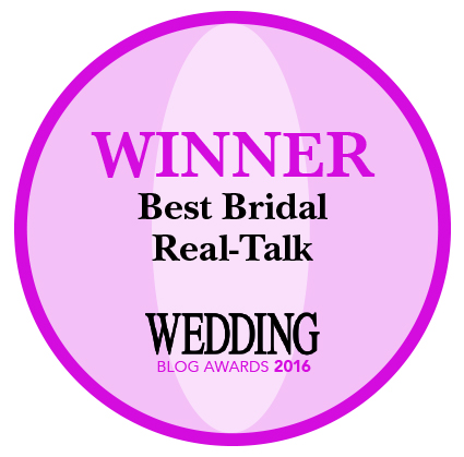 WEDDING Magazine Blog Winner 2016