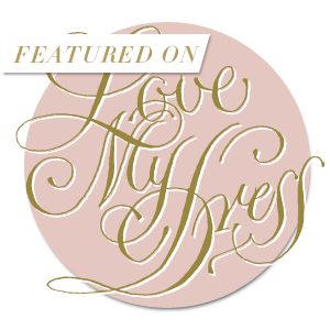 Engaged and Ready wedding blog featured on Love My Dress