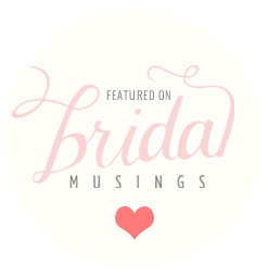 Engaged and Ready wedding blog featured on Bridal Musings