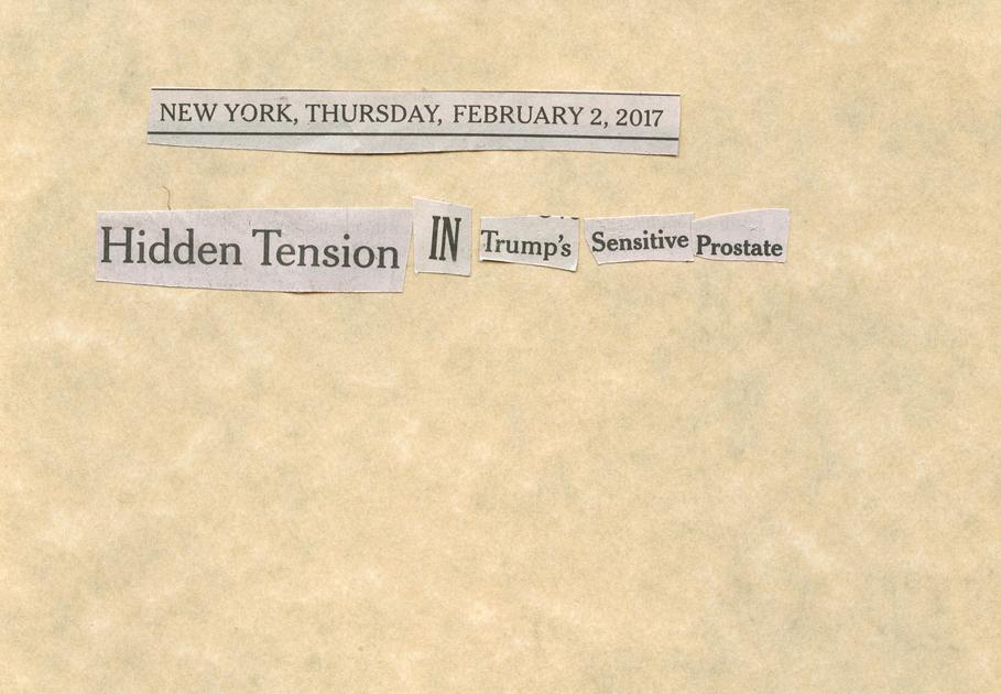 Feb. 2, 2017 Hidden Tensions in Trump's Sensitive ProstateSMALLFILE.jpg