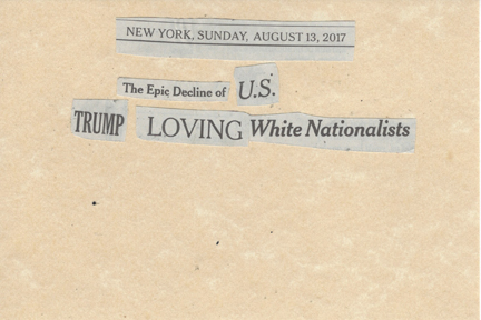 August 13, 2017, The Epic Decline of US Trump Loving White Nationalists SMFL .jpg