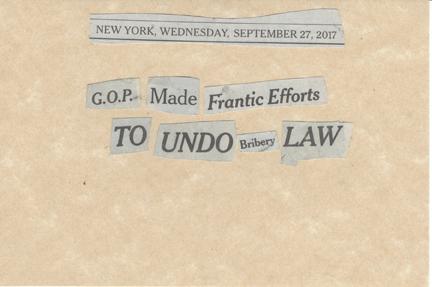 September 27, 2017 GOP Made Frantic Efforts to Undo Bribery Law SMFL.jpg
