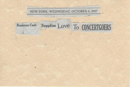 October 4, 2017 Rosanne Cash Supplies Love to Concertgoes SMFL.jpg