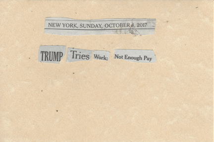 October 8, 2017 Trump Tries Work; Not Enough Pay SMFL.jpg