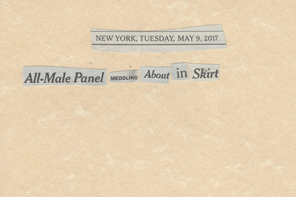 May 09, 2017 All-male Panel Meddling About in SkirtSMFL.jpg