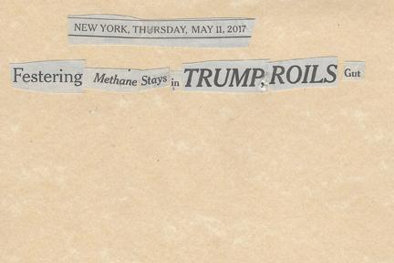 May 11, 2017.Festering Methane Stays in Trump, Roils GutSMFL.jpg