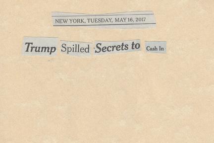 May 16, 2017 Trump Spilled Secrets to Cash InSMFL.jpg