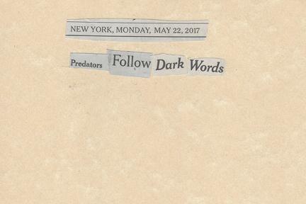May 22, 2017Predators Follow Dark WordsSMFL.jpg