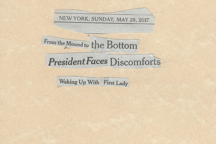 May 28, 2017 From the Mound to the Bottom Trump Faces Discomfort Waking Up with First LadySMFL.jpg