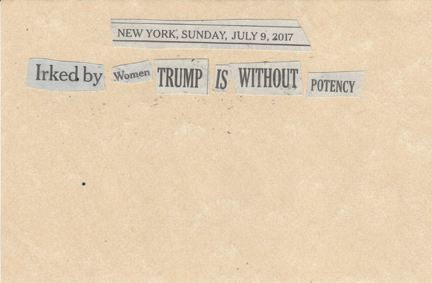 July 9, 2017 Irked by Women, Trump is WIthout PotencySMFL.jpg
